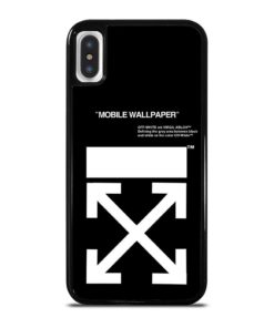 Off White Logo iPhone X / XS Case
