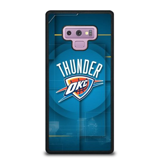 Oklahoma City Thunder Logo Samsung Galaxy Note 9 Case