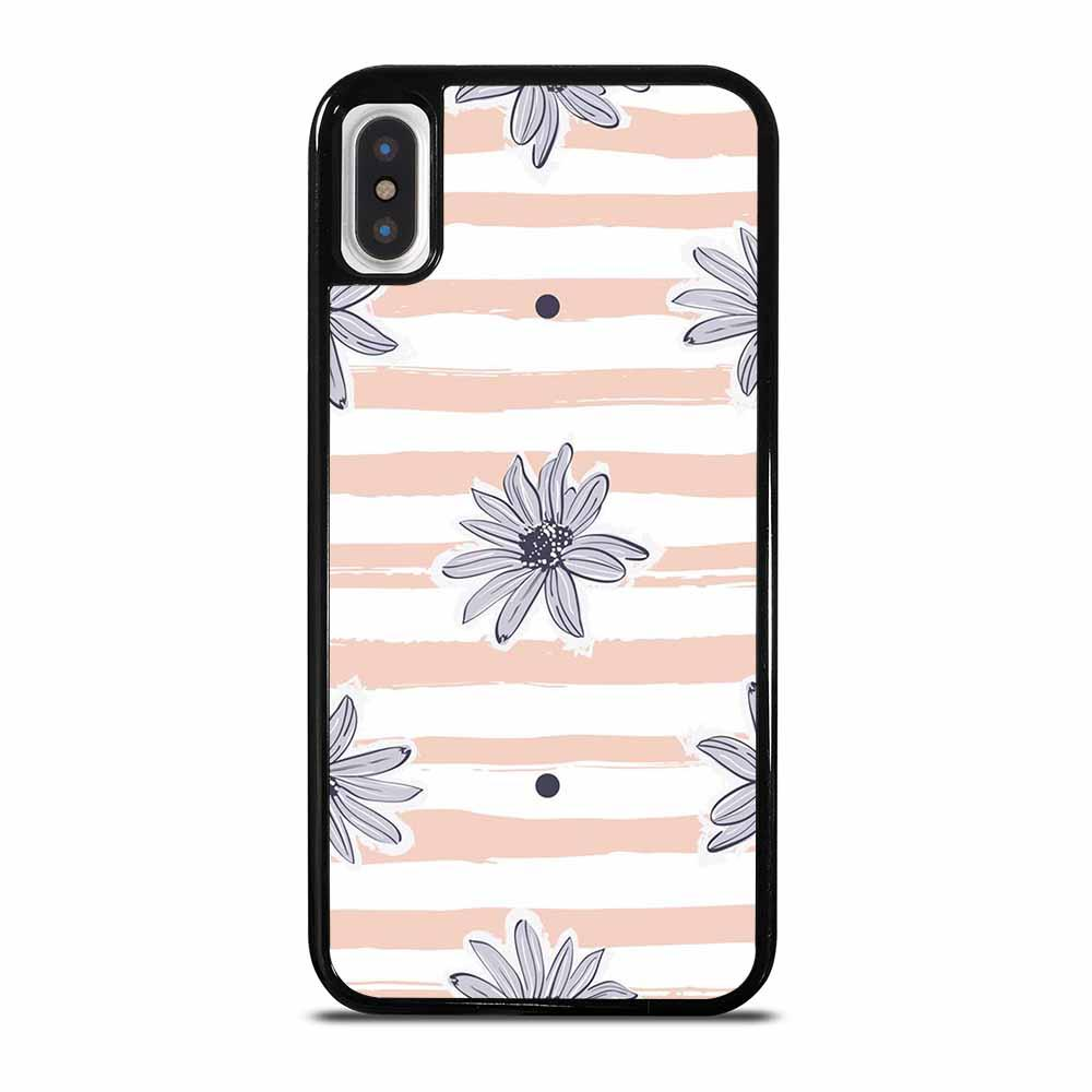 PASTEL FLORAL SEAMLESS PATTERN iPhone X/XS Case