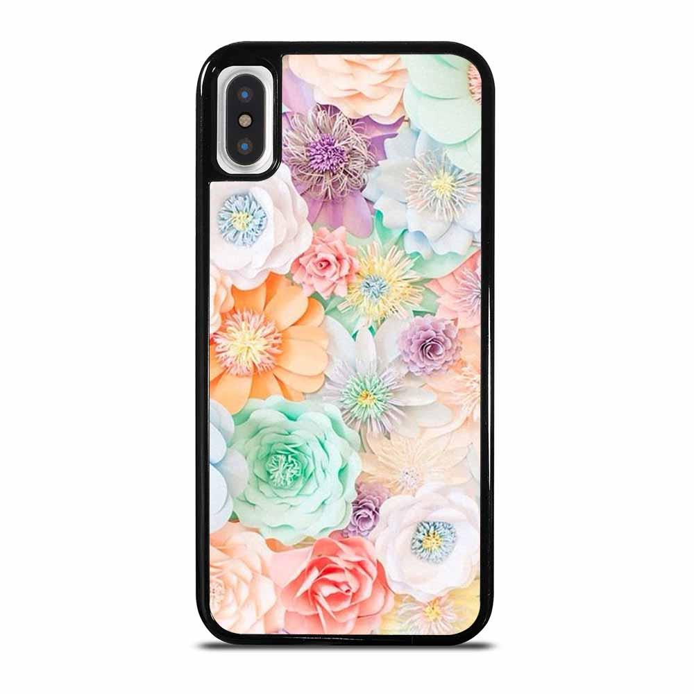 PASTEL FLOWER AESTHETIC iPhone X/XS Case