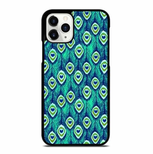 PEACOCK FEATHER PATTERN iPhone 11 Pro Case
