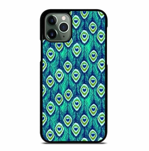PEACOCK FEATHER PATTERN iPhone 11 Pro Max Case
