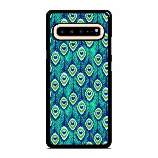 PEACOCK FEATHER PATTERN Samsung Galaxy S10 5G Case