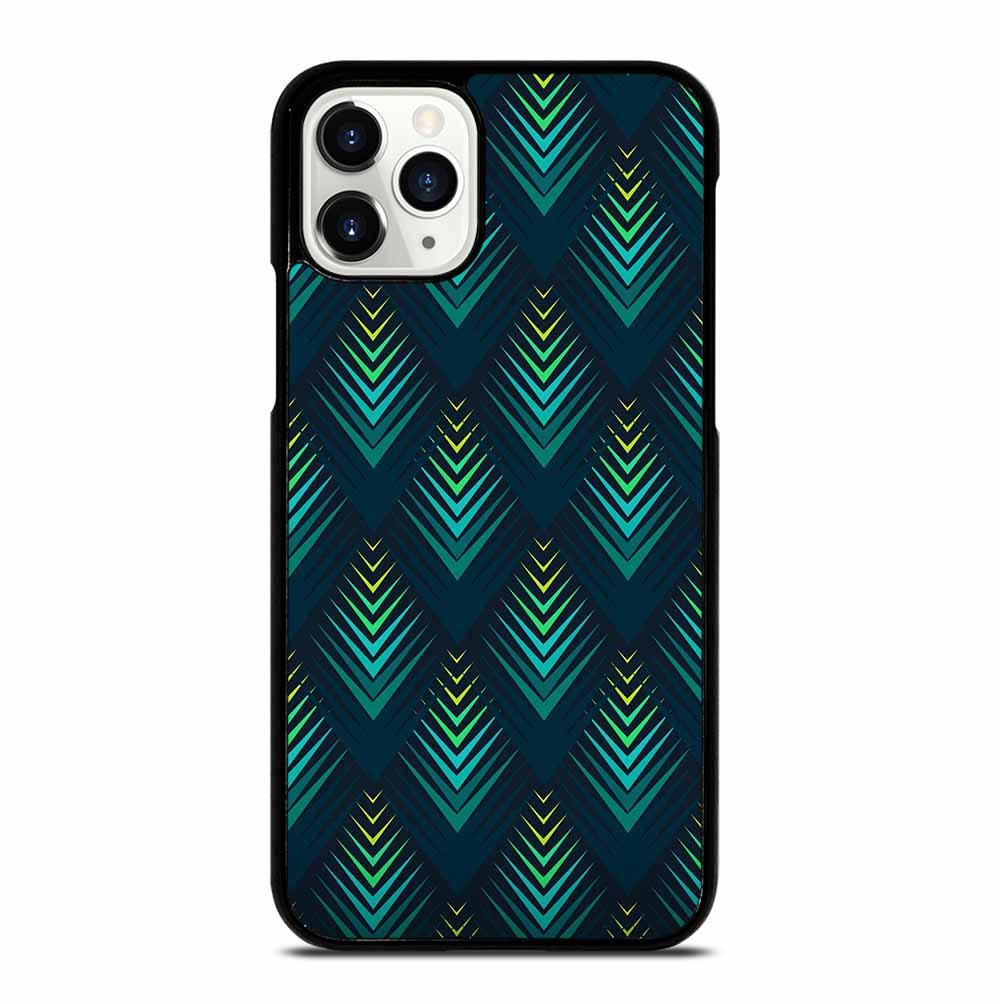PEACOCK FEATHER TEXTURE iPhone 11 Pro Case