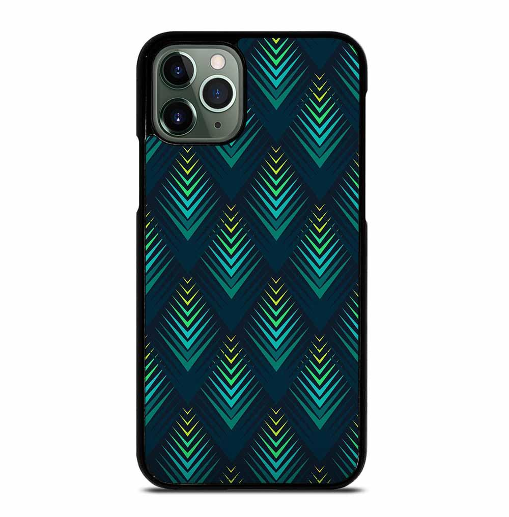 PEACOCK FEATHER TEXTURE iPhone 11 Pro Max Case