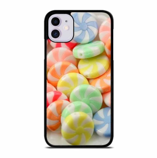 PEPPERMINT CANDY BEADS iPhone 11 Case