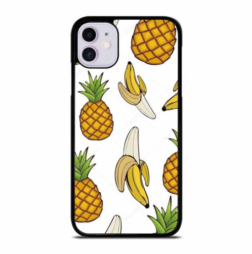 PINEAPPLE FRUIT AND BANANA iPhone 11 Case