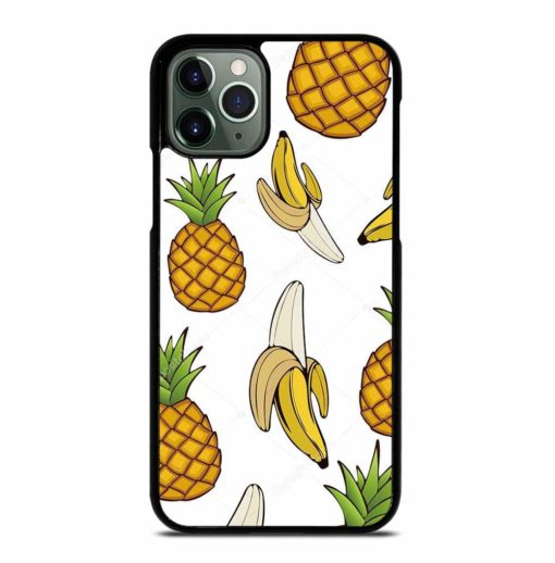 PINEAPPLE FRUIT AND BANANA iPhone 11 Pro Max Case