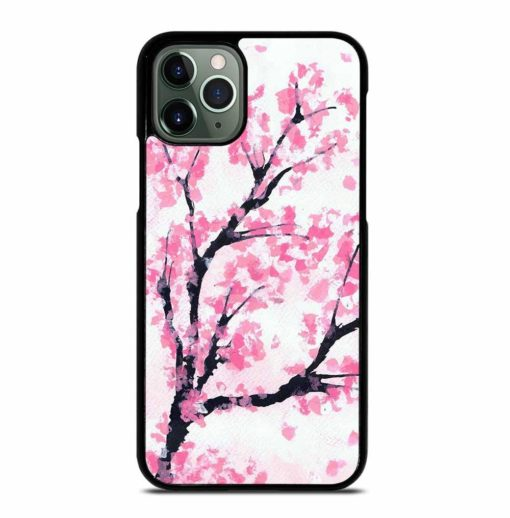 PINK CHERRY BLOSSOM TREE iPhone 11 Pro Max Case