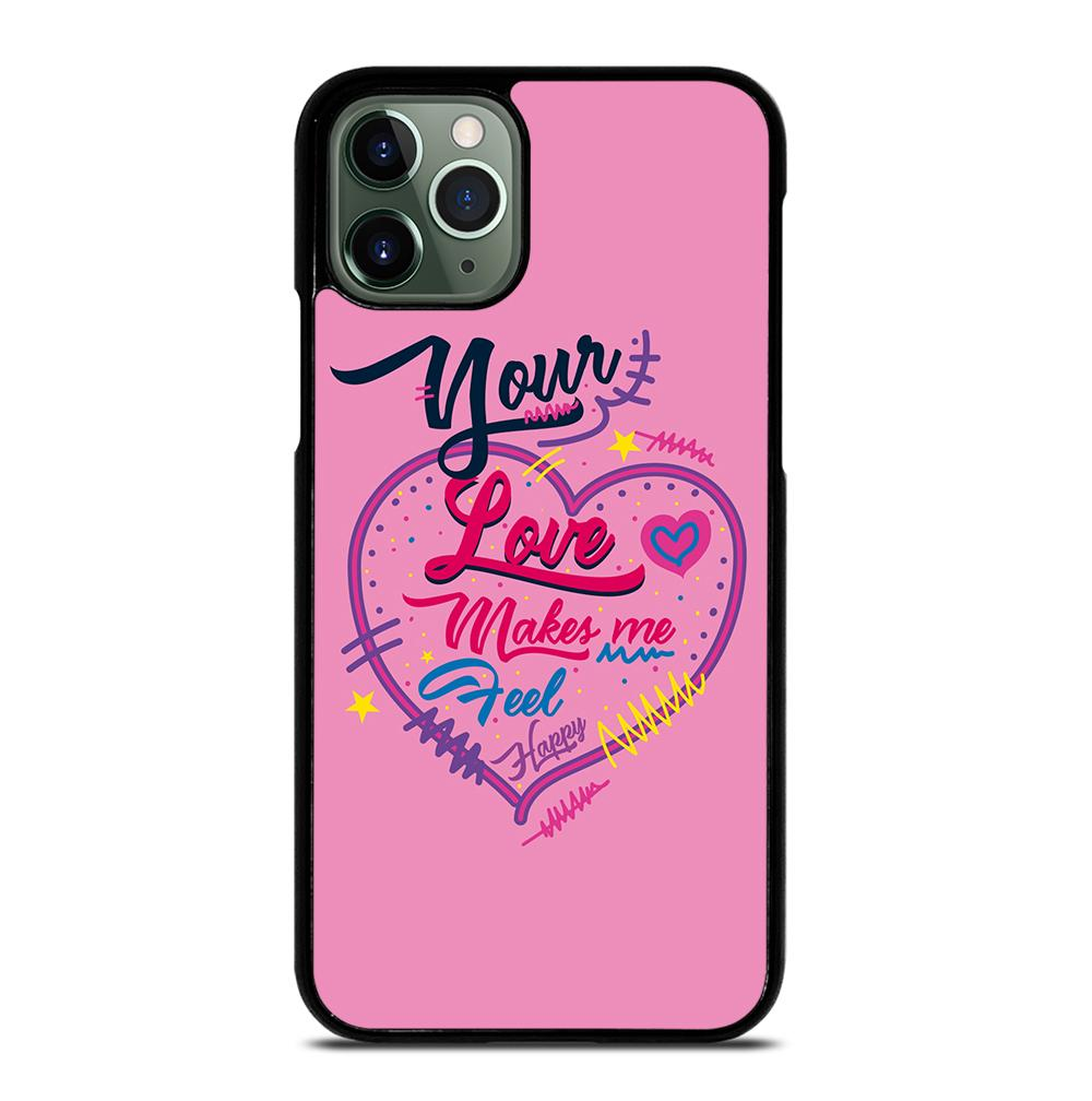 Pink Love Quotes iPhone 11 Pro Max Case
