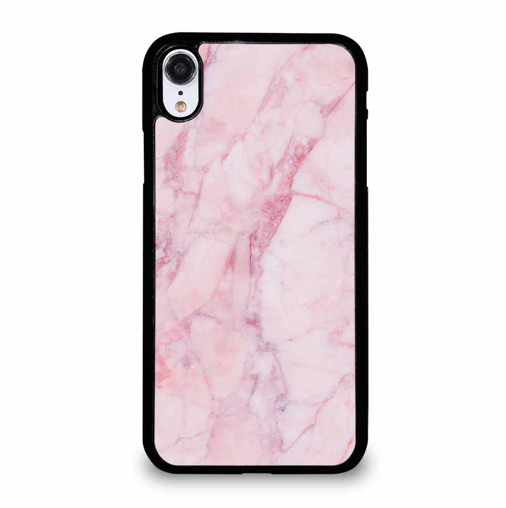 PINK MARBLE TEXTURE iPhone XR Case