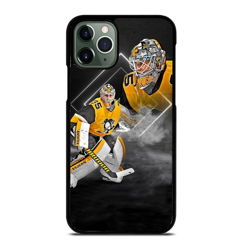 Pittsburgh Penguins Tristan Jarry Poster iPhone 11 Pro Max Case
