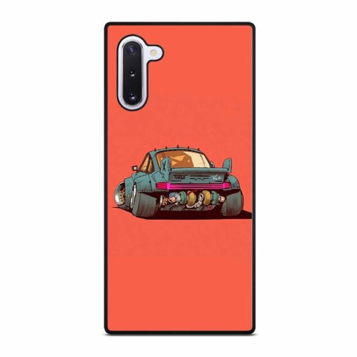 PORSCHE 911 ILLUSTRATION Samsung Galaxy Note 10 Case