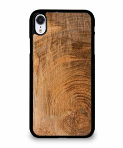 RAW WOOD PLANKS iPhone XR Case