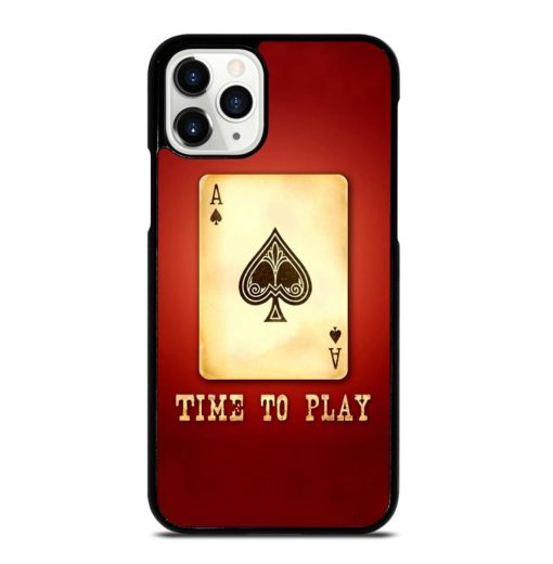 Red Ace Card iPhone 11 Pro Case