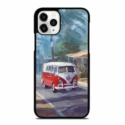 RED VW BUS iPhone 11 Pro Case