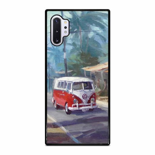 RED VW BUS Samsung Galaxy Note 10 Plus Case