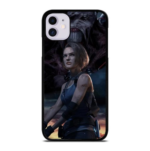 RESIDENT EVIL 3 POSTER iPhone 11 Case