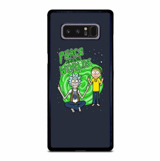 RICK AND MORTY PEACE AMONG WORLDS Samsung Galaxy Note 8 Case