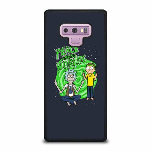 RICK AND MORTY PEACE AMONG WORLDS Samsung Galaxy Note 9 Case