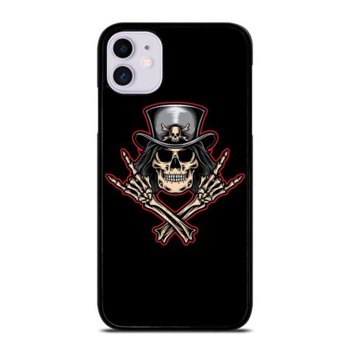 Rock and Roll Skeleton iPhone 11 Case