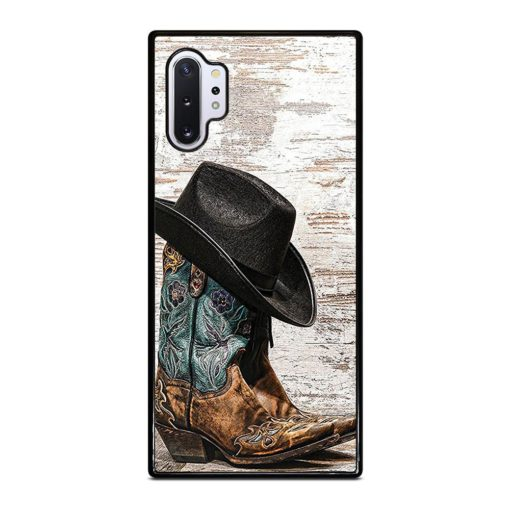 Rodeo Cowboy Lasso Boots Samsung Galaxy Note 10 Plus Case