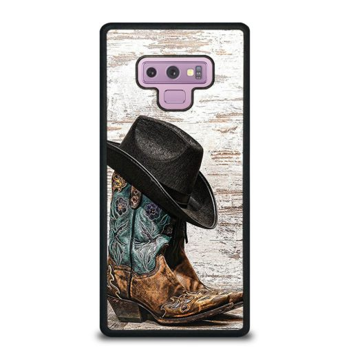 Rodeo Cowboy Lasso Boots Samsung Galaxy Note 9 Case
