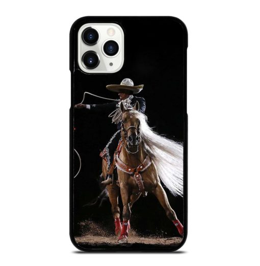 Rodeo Cowboy Lasso Horse iPhone 11 Pro Case