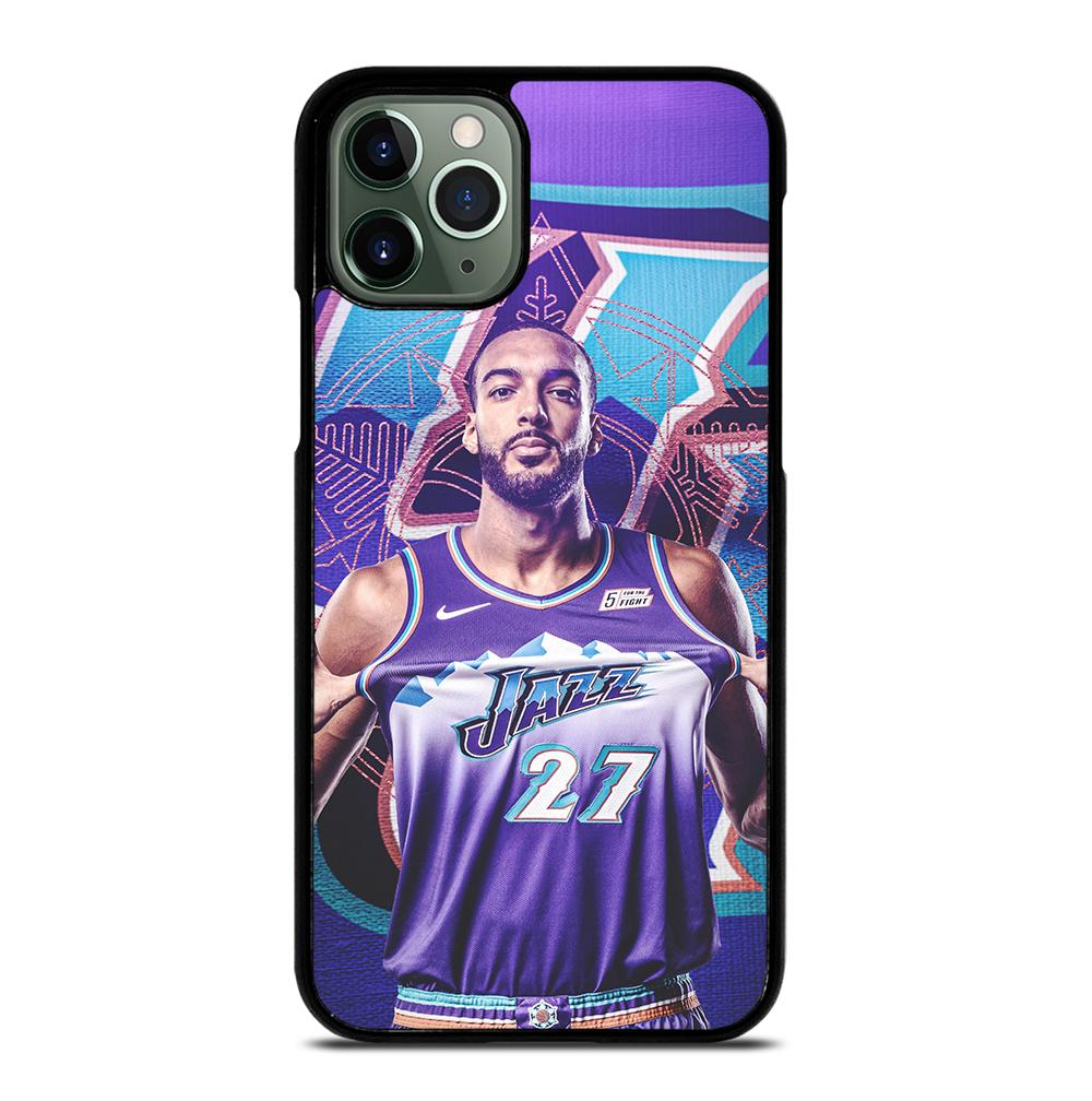 Rudy Gobert Utah Jazz iPhone 11 Pro Max Case