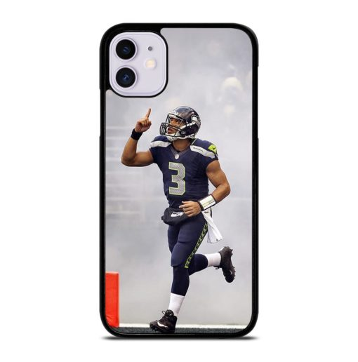 Russell Wilson Seahawks iPhone 11 Case