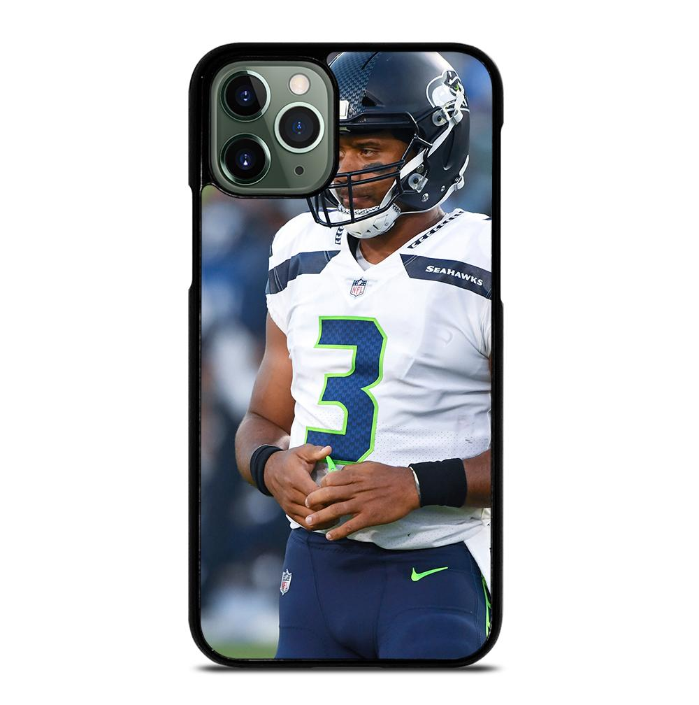 Russell Wilson Seattle Seahawks iPhone 11 Pro Max Case