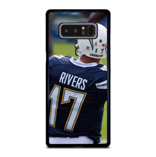 San Diego Chargers Philip Rivers Samsung Galaxy Note 8 Case