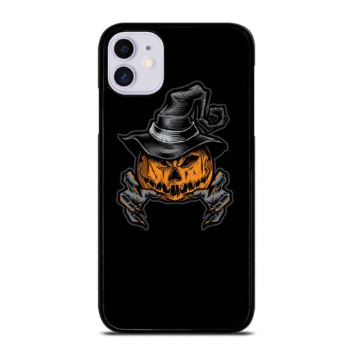 SCARY PUMPKINS FACES iPhone 11 Case