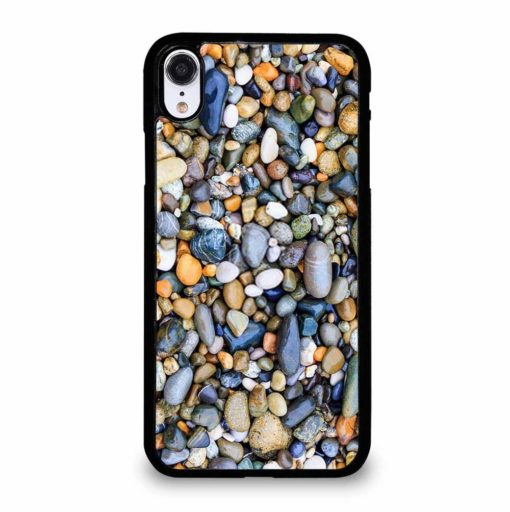 SEA STONE COLOR iPhone XR Case Cover