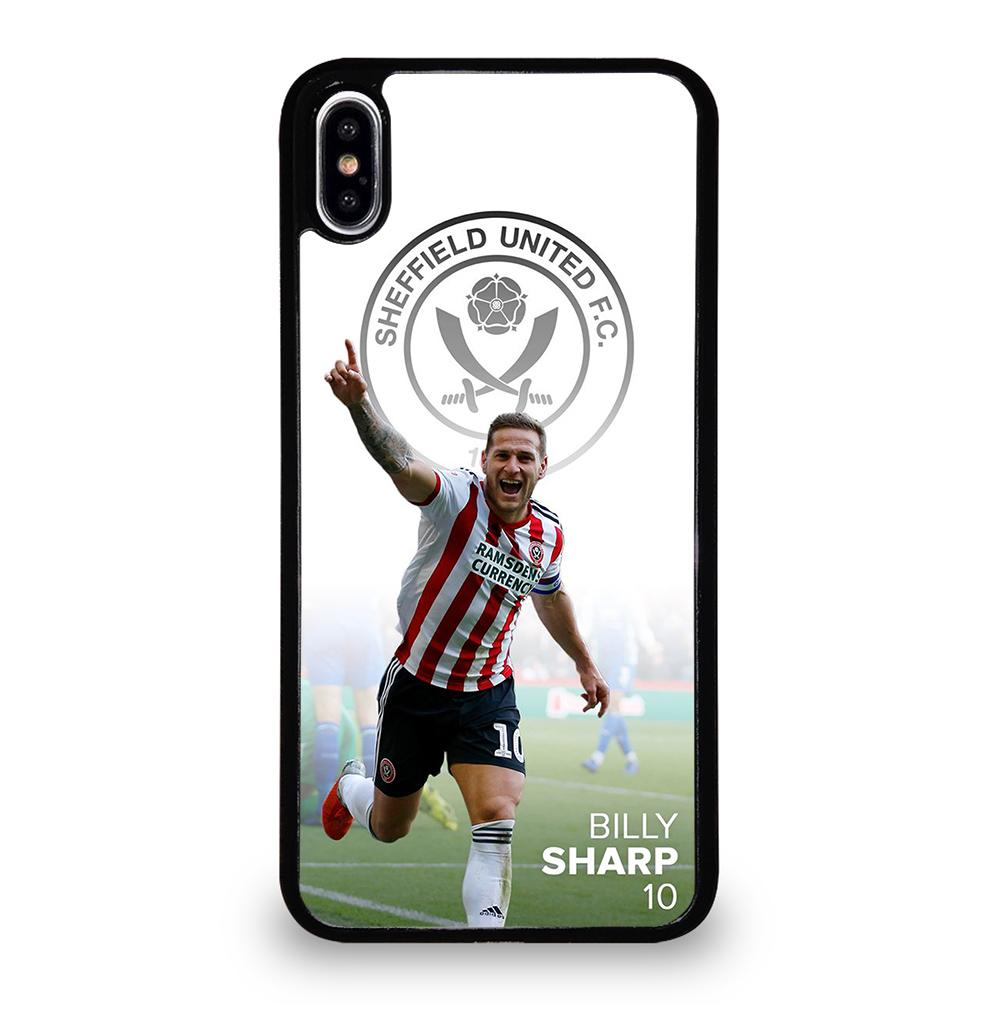 SHEFFIELD UNITED BILLY SHARP iPhone XS Max Case