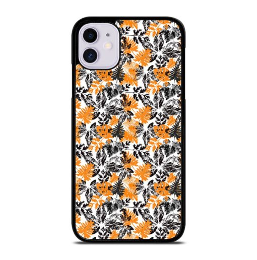 SILHOUETTE LEAVES iPhone 11 Case