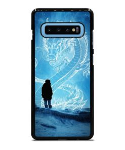 SILHOUETTE WHITE DRAGONFLY Samsung Galaxy S10 Plus Case