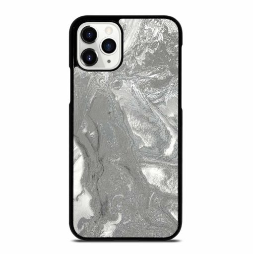 SILVER GRAY MARBLE iPhone 11 Pro Case