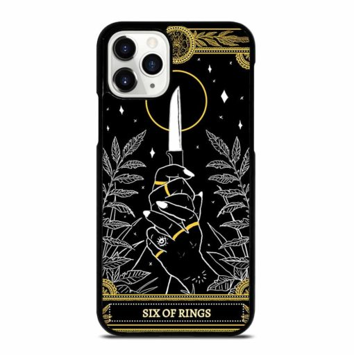 SIX OF RINGS TAROT iPhone 11 Pro Case