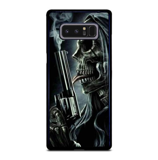 SKELETON SKULL GRIM REAPER Samsung Galaxy Note 8 Case