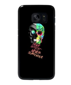SKULL QUOTES Samsung Galaxy S7 Edge Case