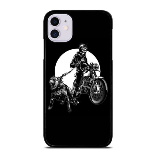 SKULL RIDER MOTORCYCLE iPhone 11 Case