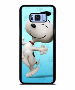 SNOOPY DOG FACE Samsung Galaxy S8 Plus Case