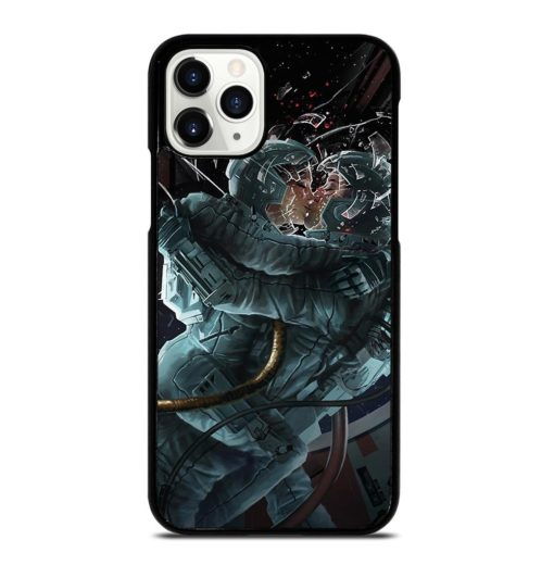 Space Astronaut Kissing iPhone 11 Pro Case