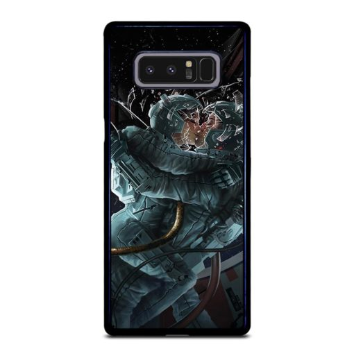 Space Astronaut Kissing Samsung Galaxy Note 8 Case