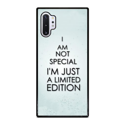 Special Edition Life Quotes Samsung Galaxy Note 10 Plus Case
