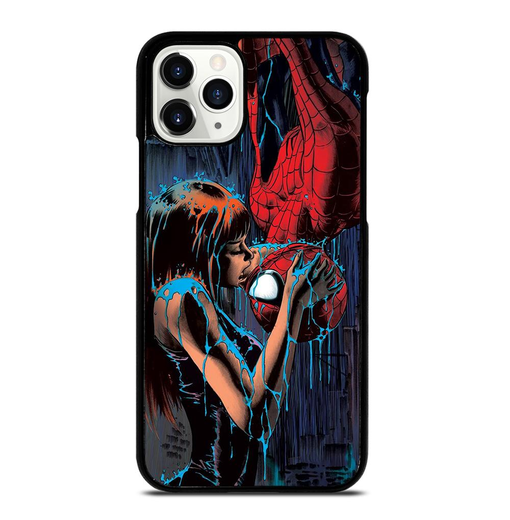 SPIDERMAN MARY JANE KISSING iPhone 11 Pro Case