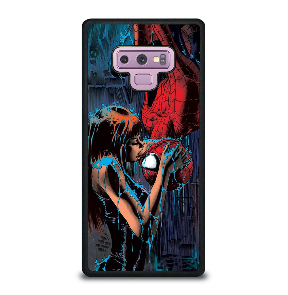 SPIDERMAN MARY JANE KISSING Samsung Galaxy Note 9 Case
