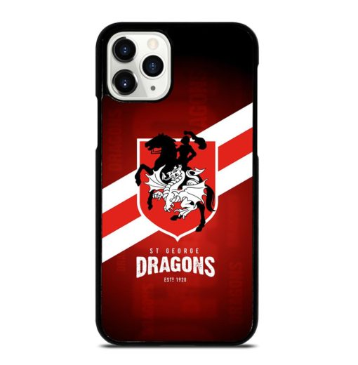 ST George Dragons iPhone 11 Pro Case
