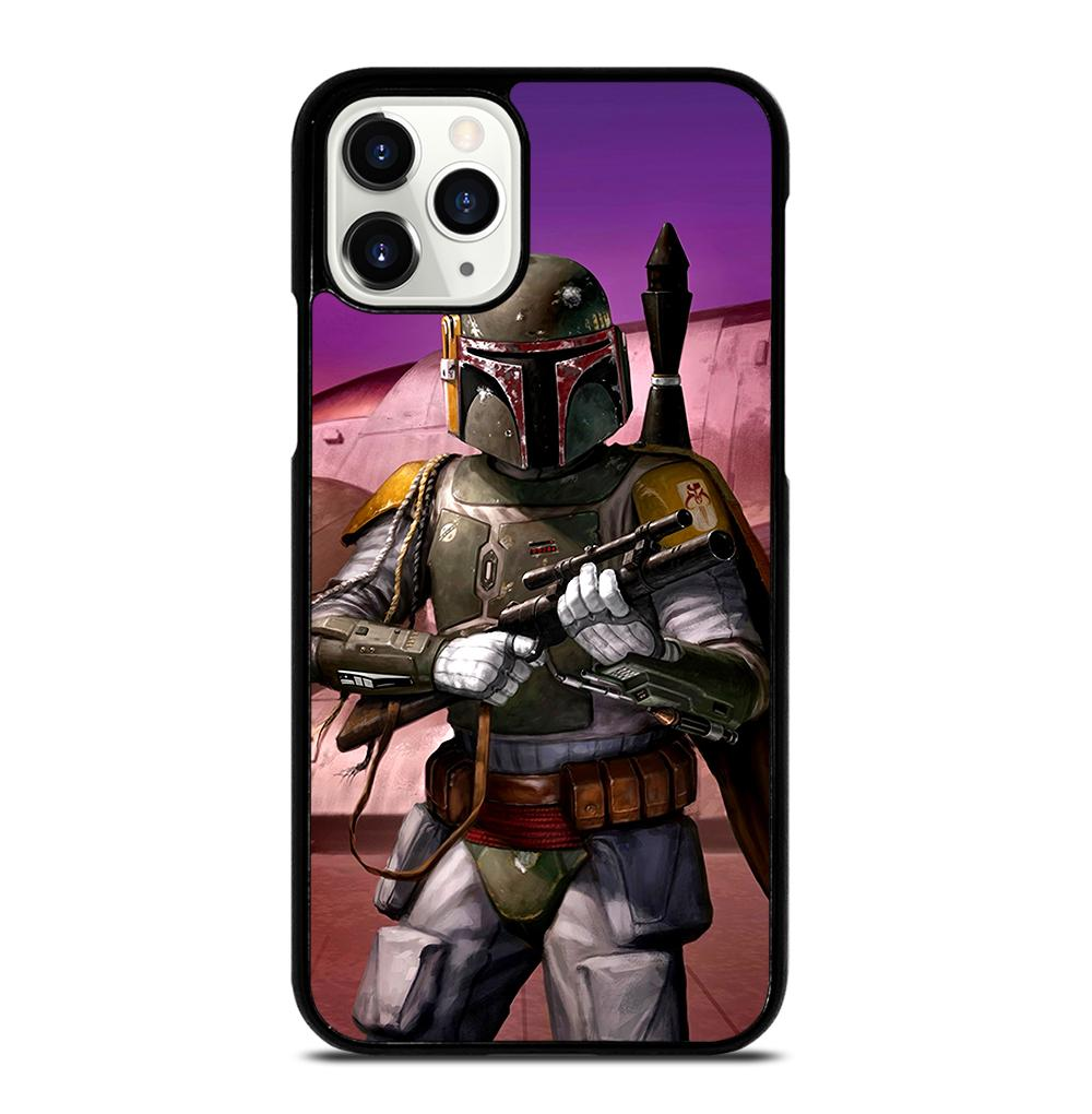 STAR WARS BOBA FETT DEATH iPhone 11 Pro Case